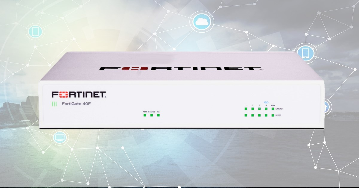 FortiGate 40F – Secure SD-WAN for the Small Business