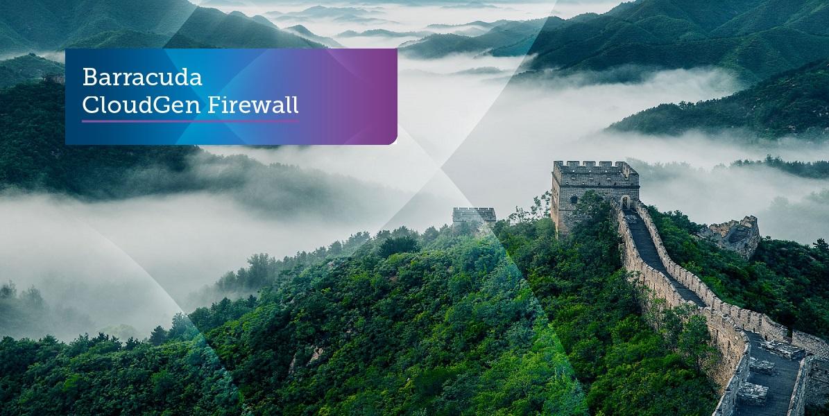 Barracuda CloudGen Firewall – A Walk in the Clouds