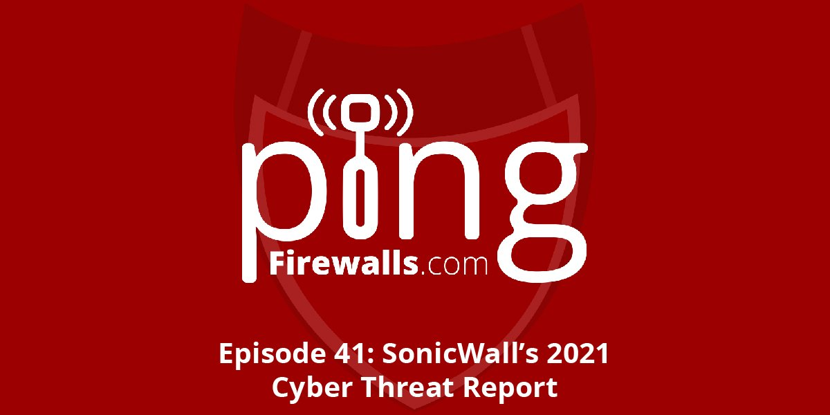 SonicWall's 2021 Cyber Threat Report – Ping Podcast – Episode 41