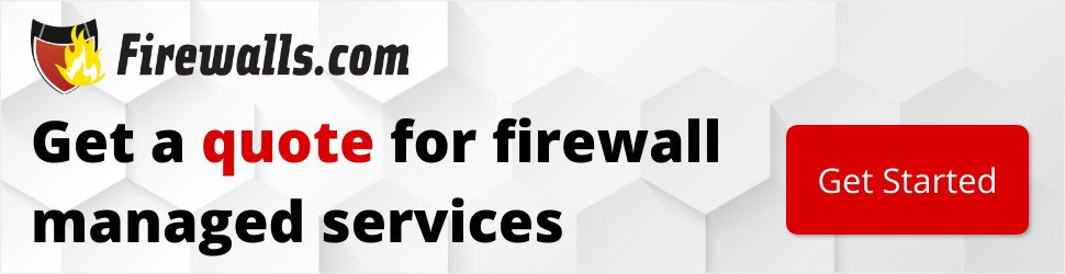Firewall managed services pricing