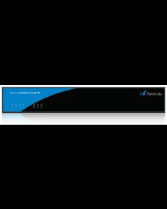 Barracuda Firewall Appliance F82 (VDSL2/ADSL2+ Annex B/J with RJ45 and SFP port)