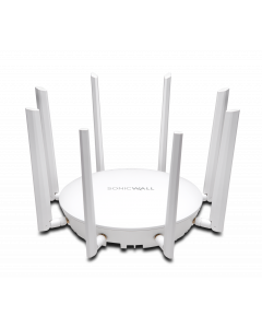 SonicWall SonicWave 432e Wireless Access Point with Advanced Secure Cloud WiFi Management & Support - 3 Year