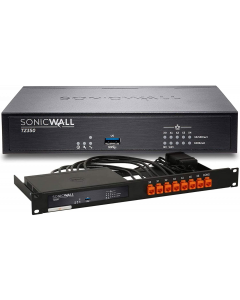 SonicWall TZ350 Firewall Appliance with Rack Mount Kit - TotalSecure Advanced Edition - 1 Year 01-SWBUN-0021