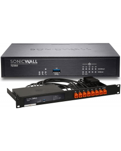 SonicWall TZ350 Firewall Appliance with Rack Mount Kit - Secure Upgrade Plus Advanced - 2 Year 01-SWBUN-0022