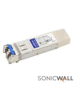 SonicWall 10GB-LR SFP+ Long Reach Fiber Module - Single-Mode - No Cable