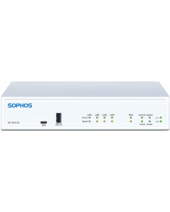 Sophos SD-RED 20 Rev.1 Appliance with multi-region power adapter, 1-Year Warranty
