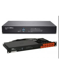 SonicWall TZ600 Firewall Appliance with Rack Mount Kit - Secure Upgrade Plus - 3 Year